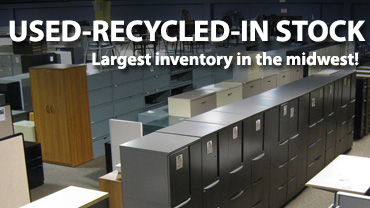 Used, Recycled, & In Stock Office Furniture