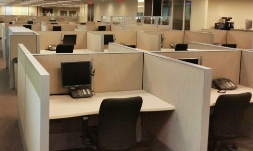 Haworth Compose Call Center Stations