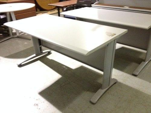 Grey Computer Training Table
