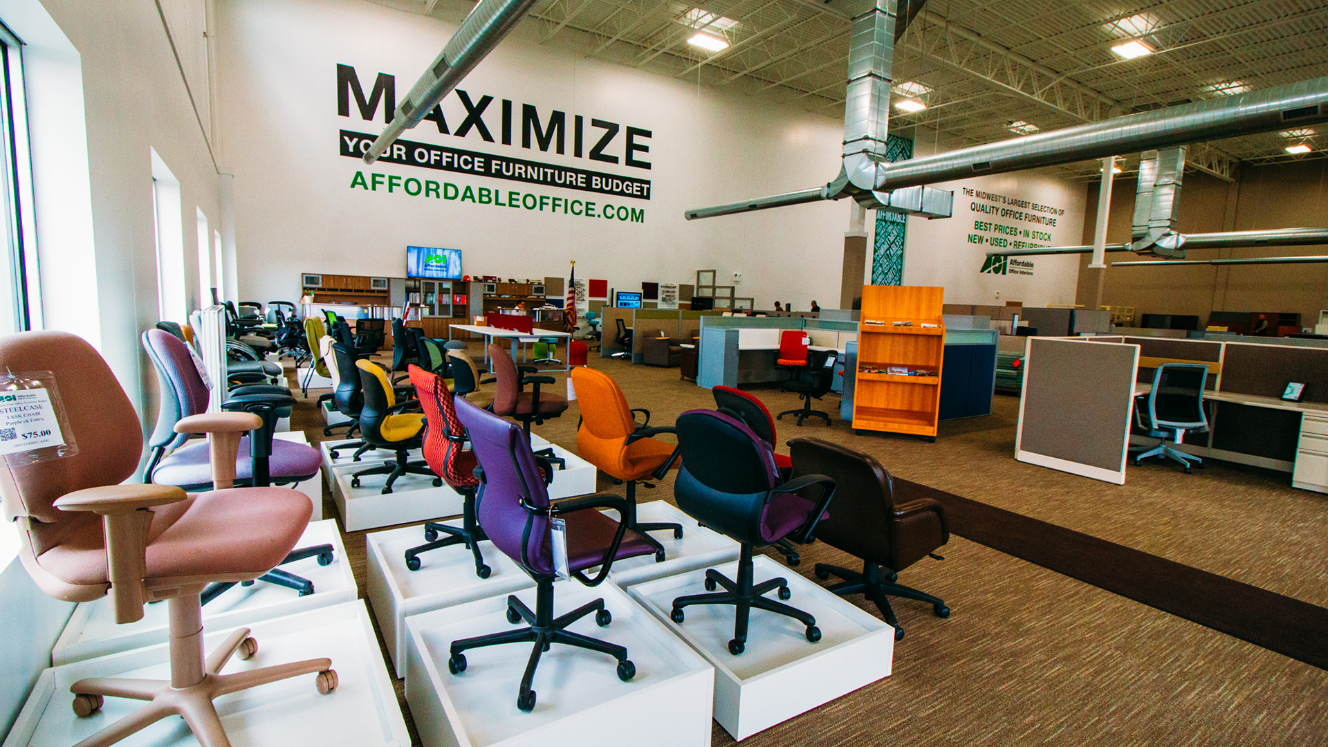 Office Furniture Chicago Affordable Office Interiors - Furniture madison wi